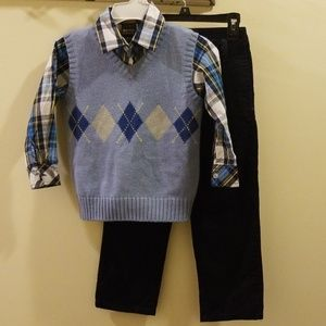 Other - Kani Gold 3 piece boys dress set